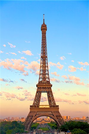 Eiffel Tower, Paris, France, Europe Stock Photo - Rights-Managed, Code: 841-07081203