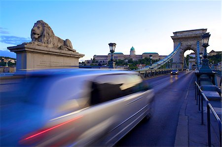 Chain Bridge, Budapest, Hungary, Europe Stock Photo - Rights-Managed, Code: 841-07081230