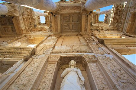Detail of Library of Celsus, Ephesus, Anatolia, Turkey, Asia Minor, Eurasia Stock Photo - Rights-Managed, Code: 841-07081240