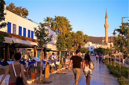 Promenade, Bodrum, Anatolia, Turkey, Asia Minor, Eurasia Stock Photo - Rights-Managed, Code: 841-07081259