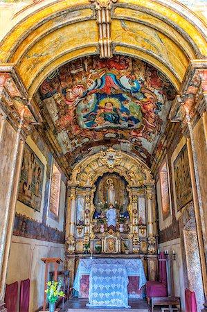 Interior of the Capela de Nossa Senhora do Pilar, Sabara, Belo Horizonte, Minas Gerais, Brazil, South America Stock Photo - Rights-Managed, Code: 841-07081377