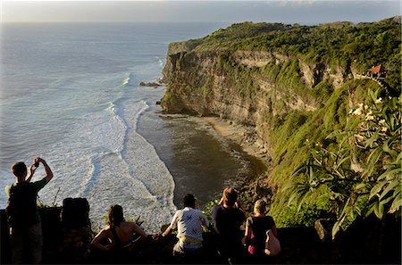 The cliff at Uluwatu, Bali, Indonesia, Southeast Asia, Asia Stock Photo - Rights-Managed, Code: 841-07081497