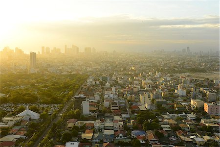 View of Makati, Metromanila, Manila, Philippines, Southeast Asia, Asia Stock Photo - Rights-Managed, Code: 841-07081508