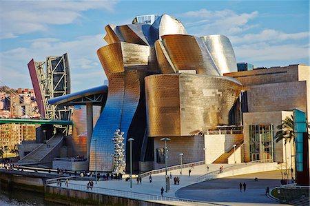 Guggenheim Museum, Bilbao, Euskadi, Spain, Europe Stock Photo - Rights-Managed, Code: 841-07081919