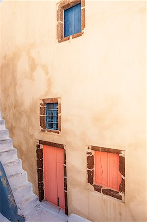 Painted building, Oia, Santorini, Cyclades, Greek Islands, Greece, Europe Stock Photo - Rights-Managed, Code: 841-07082023