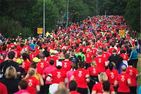 Reykjavik Marathon 2012, Reykjavik, Iceland, Polar Regions Stock Photo - Rights-Managed, Code: 841-07082266