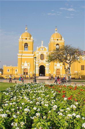 peru and culture - Cathedral of Trujillo from Plaza de Armas, Trujillo, Peru, South America Stock Photo - Rights-Managed, Code: 841-07082849