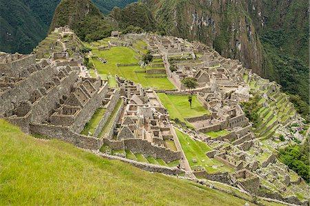 peru and culture - Machu Picchu, UNESCO World Heritage Site, near Aguas Calientes, Peru, South America Stock Photo - Rights-Managed, Code: 841-07082879