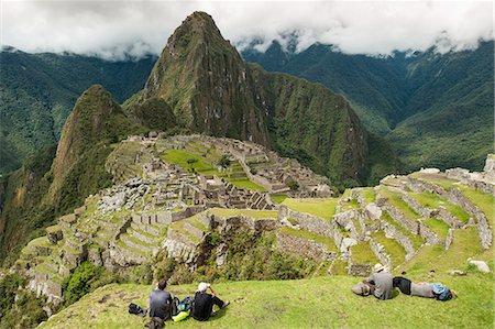 south american woman - Machu Picchu, UNESCO World Heritage Site, near Aguas Calientes, Peru, South America Stock Photo - Rights-Managed, Code: 841-07082889
