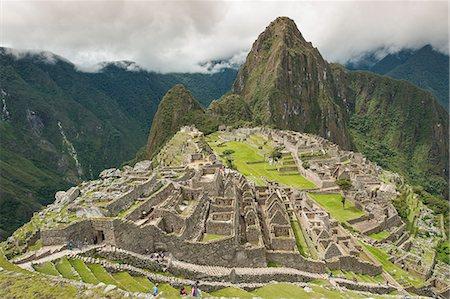 peru and culture - Machu Picchu, UNESCO World Heritage Site, near Aguas Calientes, Peru, South America Stock Photo - Rights-Managed, Code: 841-07082880