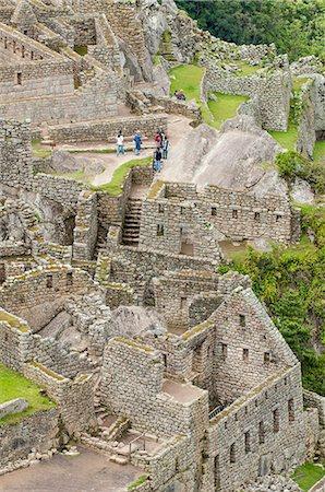 peru and culture - Machu Picchu, UNESCO World Heritage Site, near Aguas Calientes, Peru, South America Stock Photo - Rights-Managed, Code: 841-07082883