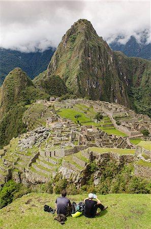 peru and culture - Machu Picchu, UNESCO World Heritage Site, near Aguas Calientes, Peru, South America Stock Photo - Rights-Managed, Code: 841-07082890