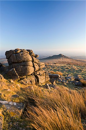 dartmoor national park - Belstone Tor and moorland, Dartmoor National Park, Devon, England, United Kingdom, Europe Stock Photo - Rights-Managed, Code: 841-07082921