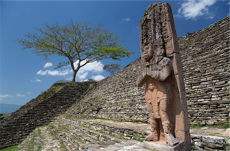 Tonina Archaeological Zone, Chiapas, Mexico, North America Stock Photo - Rights-Managed, Code: 841-07083010