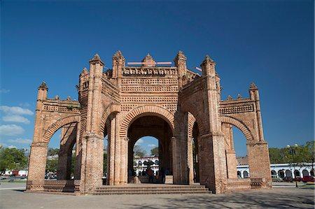 La Pila (the fountain), built in 1562, Chiapa de Corzo, Chiapas, Mexico, North America Stock Photo - Rights-Managed, Code: 841-07083043
