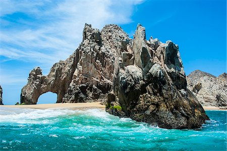 Lands End rock formation, Los Cabos, Baja California, Mexico, North America Stock Photo - Rights-Managed, Code: 841-07083451