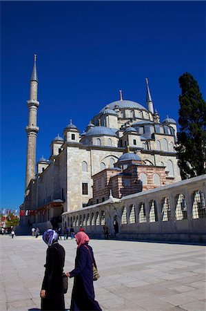 Fatih Mosque, Istanbul, Turkey, Europe Stock Photo - Rights-Managed, Code: 841-07204353