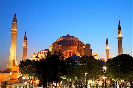 Hagia Sophia (Aya Sofya Mosque) (The Church of Holy Wisdom), UNESCO World Heritage Site, Istanbul, Turkey, Europe Stock Photo - Rights-Managed, Code: 841-07204375