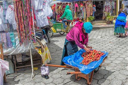 south american woman - Street scene, Otavalo market, Imbabura Province, Ecuador, South America Stock Photo - Rights-Managed, Code: 841-07204387