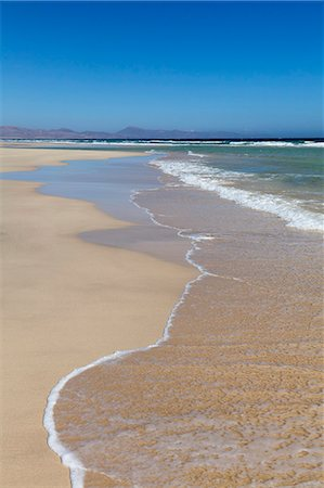 Beach of Risco del Paso, Fuerteventura, Canary Islands, Spain, Atlantic, Europe Stock Photo - Rights-Managed, Code: 841-07204696