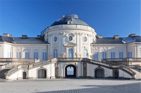 Schloss Solitude Castle, Stuttgart, Baden Wurttemberg, Germany. Europe Stock Photo - Rights-Managed, Code: 841-07204767