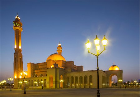 Al Fateh Grand Mosque, Manama, Bahrain, Middle East Stock Photo - Rights-Managed, Code: 841-07205583