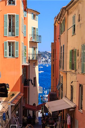 Villefranche-sur-Mer, Alpes Maritimes, Provence, Cote d'Azur, French Riviera, France, Europe Stock Photo - Rights-Managed, Code: 841-07205911