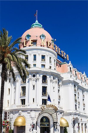 Hotel Negresco, Promenade des Anglais, Nice, Alpes Maritimes, Provence, Cote d'Azur, French Riviera, France, Europe Stock Photo - Rights-Managed, Code: 841-07205925