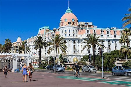 Hotel Negresco, Promenade des Anglais, Nice, Alpes Maritimes, Provence, Cote d'Azur, French Riviera, France, Europe Stock Photo - Rights-Managed, Code: 841-07205923