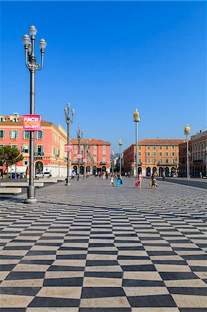 places - Place Massena, Nice, Alpes-Maritimes, Provence, Cote d'Azur, French Riviera, France, Europe Stock Photo - Rights-Managed, Code: 841-07205947