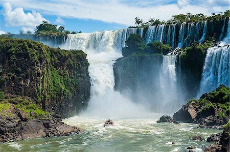 Foz de Iguazu (Iguacu Falls), Iguazu National Park, UNESCO World Heritage Site, Argentina, South America Stock Photo - Rights-Managed, Code: 841-07206051