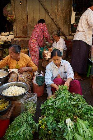 southeast asian - Vegetable market, Bogyoke Aung San market, Yangon (Rangoon), Myanmar (Burma), Asia Stock Photo - Rights-Managed, Code: 841-07206145