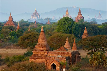 Bagan (Pagan), Myanmar (Burma), Asia Stock Photo - Rights-Managed, Code: 841-07206207