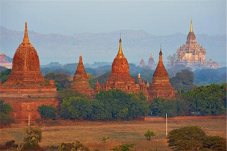 Bagan (Pagan), Myanmar (Burma), Asia Fotografie stock - Rights-Managed, Codice: 841-07206213
