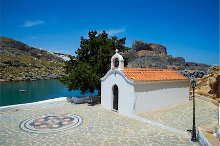 St. Paul Beach, Lindos, Rhodes, Dodecanese, Greek Islands, Greece, Europe Stock Photo - Rights-Managed, Code: 841-07206315