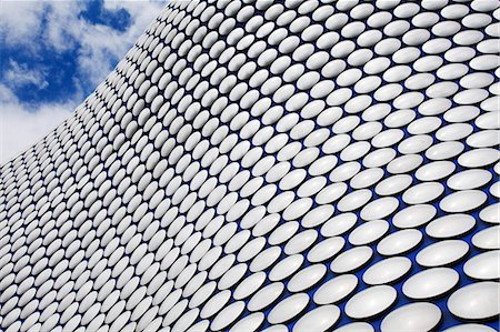 Abstract view of the Selfridges Building at The Bullring, Birmingham, West Midlands, England, United Kingdom, Europe Stockbilder - Lizenzpflichtiges, Bildnummer: 841-07206373