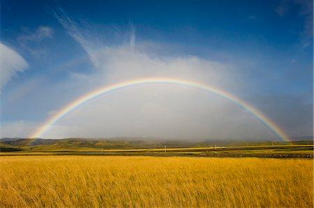 rainbow - Rainbow, Iceland, Polar Regions Stock Photo - Rights-Managed, Code: 841-07206415