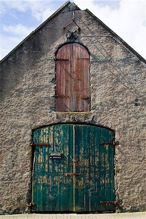 Garage in Stornoway, Outer Hebrides, United Kingdom Stock Photo - Rights-Managed, Code: 841-07202040