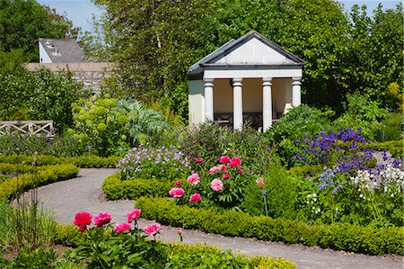 Physic Garden, Cowbridge, Vale of Glamorgan, Wales, United Kingdom, Europe Stock Photo - Rights-Managed, Code: 841-07202163