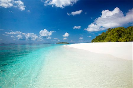 Tropical beach, Baa Atoll, Maldives, Indian Ocean, Asia Stock Photo - Rights-Managed, Code: 841-07202262