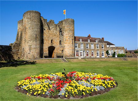 Tonbridge Castle, Tonbridge, Kent, England, United Kingdom, Europe Stock Photo - Rights-Managed, Code: 841-07202520