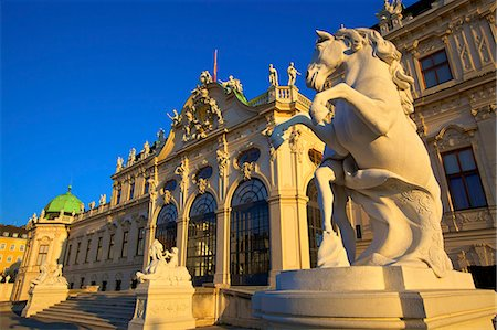 Belvedere, UNESCO World Heritage Site, Vienna, Austria, Europe Stock Photo - Rights-Managed, Code: 841-07457094