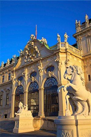 Belvedere, UNESCO World Heritage Site, Vienna, Austria, Europe Stock Photo - Rights-Managed, Code: 841-07457095