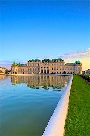 Belvedere, UNESCO World Heritage Site, Vienna, Austria, Europe Stock Photo - Rights-Managed, Code: 841-07457093