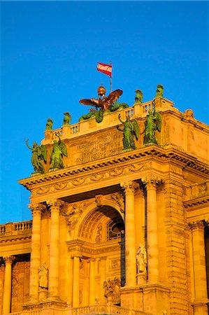Hofburg Palace exterior, UNESCO World Heritage Site, Vienna, Austria, Europe Stock Photo - Rights-Managed, Code: 841-07457107