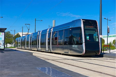 Tram, Tours, Indre-et-Loire, Centre, France, Europe Stock Photo - Rights-Managed, Code: 841-07457325