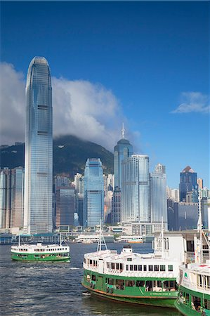 Star Ferry and Hong Kong Island skyline, Hong Kong, China, Asia Stock Photo - Rights-Managed, Code: 841-07457526