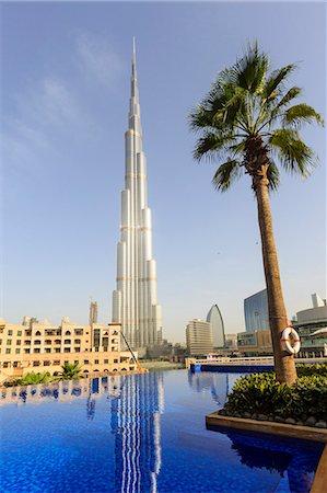 Burj Khalifa, Dubai, United Arab Emirates, Middle East Stock Photo - Rights-Managed, Code: 841-07457563