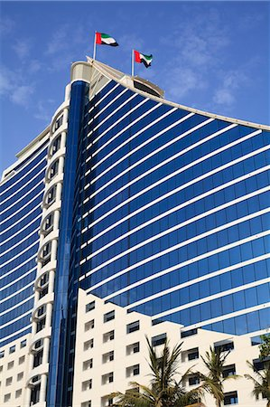 Jumeirah Beach Hotel, Dubai, United Arab Emirates, Middle East Stock Photo - Rights-Managed, Code: 841-07457580