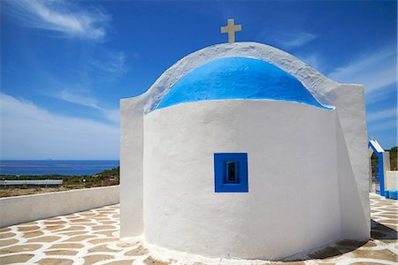 Agios Thelogos church, Kefalos Bay, Kos, Dodecanese, Greek Islands, Greece, Europe Stock Photo - Rights-Managed, Code: 841-07457717